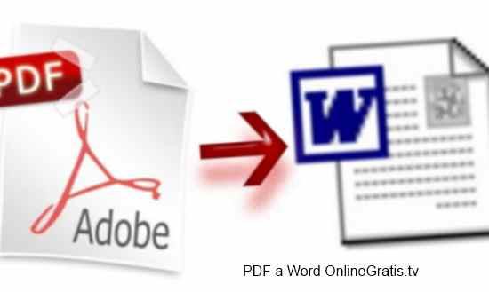 descargar convertidor pdf a word gratis en español softonic