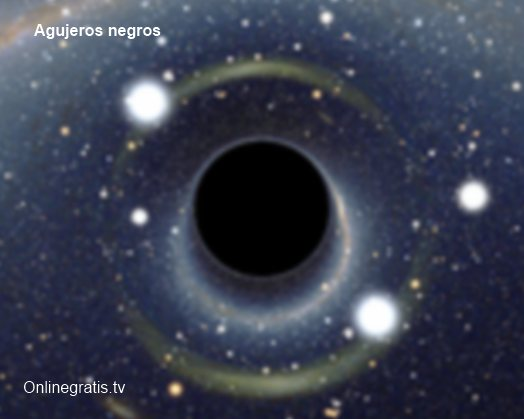 agujeros negros espacio