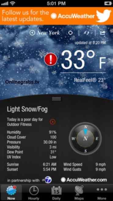 mejor aplicacion meteorologica iphone
