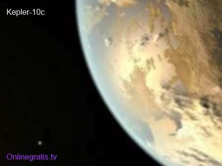 descubierto planeta Kepler-10c