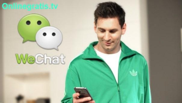Lionel Messi WeChat