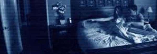 Actividad Paranormal real