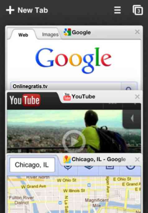 Nuevo Navegador Google Chrome Phone , iPod touch y iPad