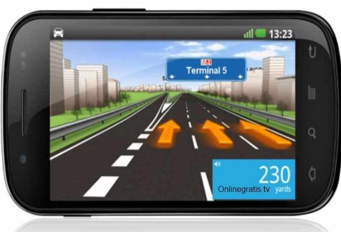 Aplicacion TomTom para Android 2012