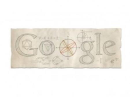 Doodle de Eulero Google