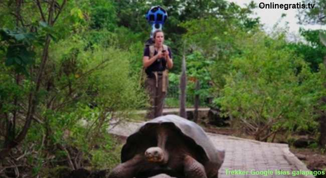 trekker google islas galapagos