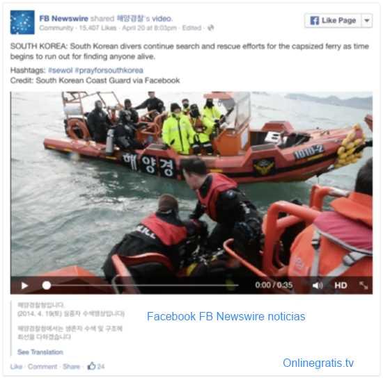FB Newswire noticias