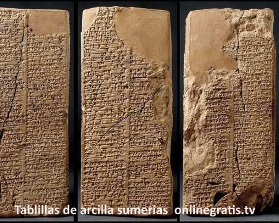 Tablillas de arcilla sumerias for Las tablillas