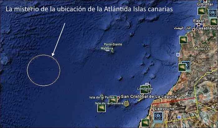 Atlántida Islas canarias