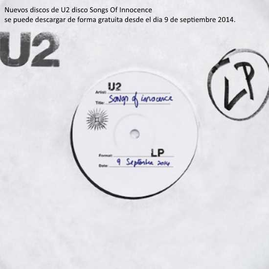 Songs Of Innocence de U2