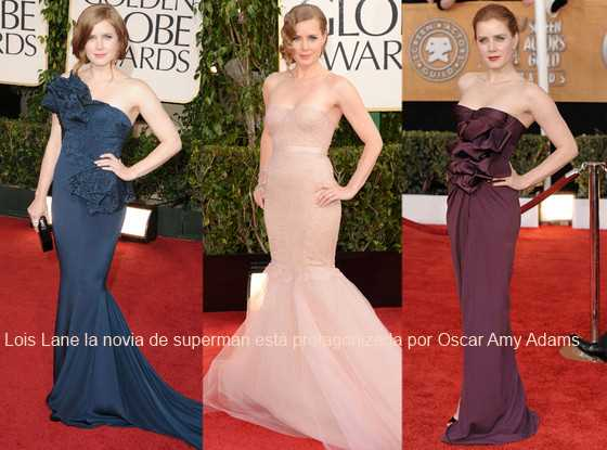 Oscar Amy Adams superman 2013