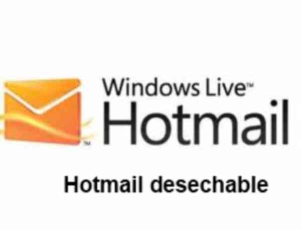 Hotmail desechable